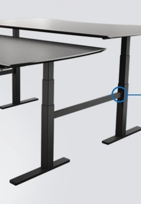 Sit/Stand height adjustable Desks